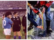 Gemist? Natuurijsbaan in één nacht & vergeten foto's van Maradona en FC Twente
