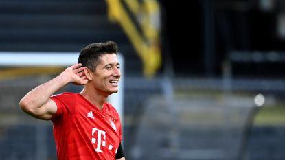 LIVE. Lewandowski heeft zijn doelpunt(en) tegen Düsseldorf te pakken: Bayern leidt met 5-0