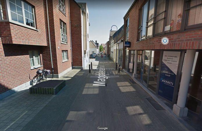 De man werd gevonden in de Magdalenastraat in Kontich.