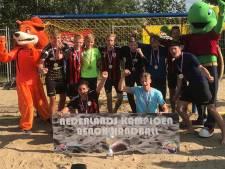 Twee jeugdteams Olympia'89 Nederlands kampioen beachhandbal