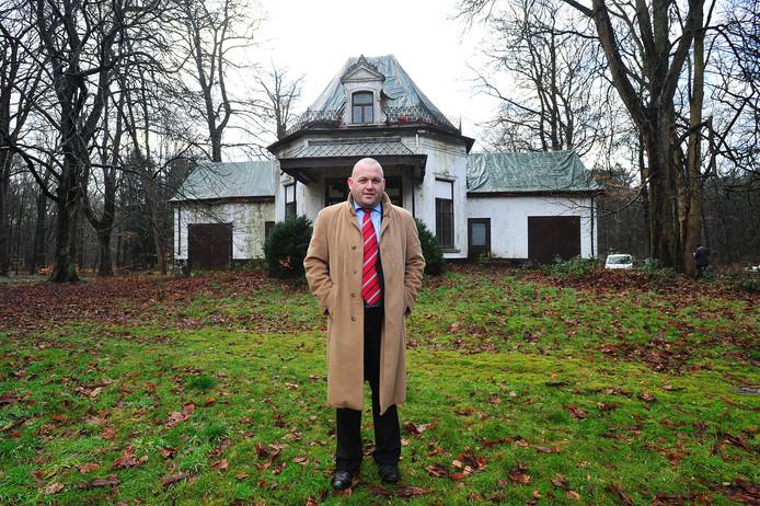 De Vlaamse horeca-ondernemer Didier Deleuil hier bij Villa Vredelust. Het pand dat hij begin 2014 kocht.