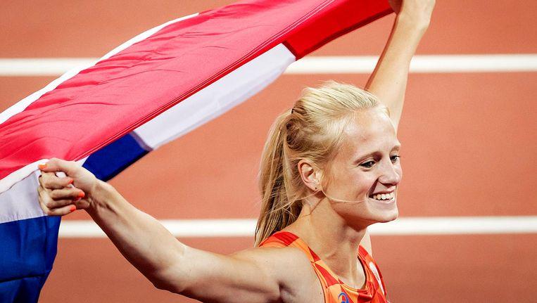 Anouk Vetter wordt derde en wint daarmee brons Beeld anp