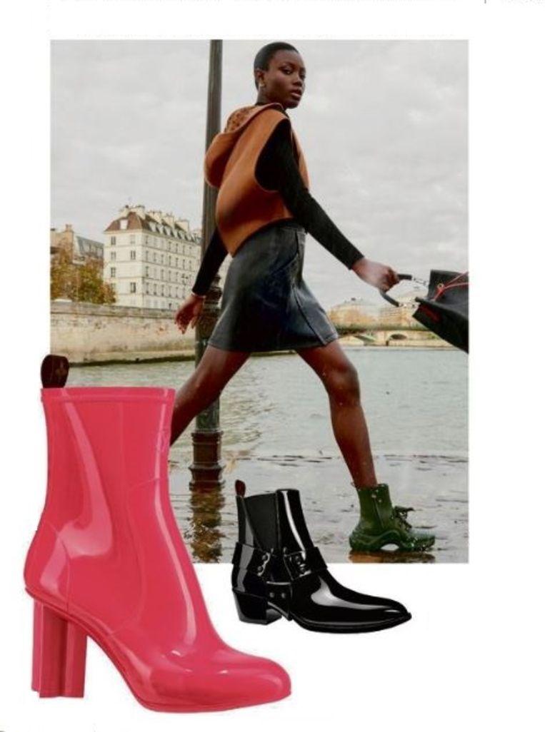 Regenschoenen van Louis Vuitton € 650 - € 690 Beeld