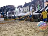 Zandbakken gevuld op Markten in Wouw en Roosendaal