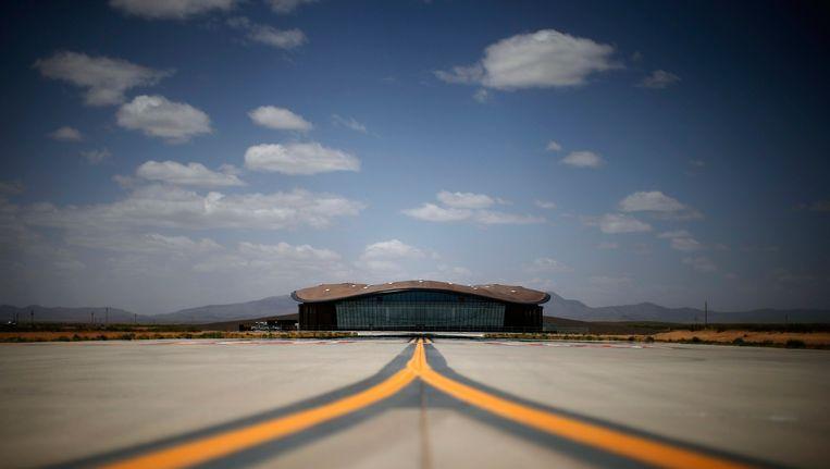 Het commerciële ruimtestation in new Mexico Beeld reuters