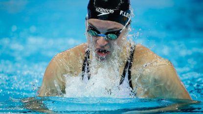 Fanny Lecluyse zet op WK zwemmen kortebaan tweede tijd neer in reeksen 200 meter schoolslag