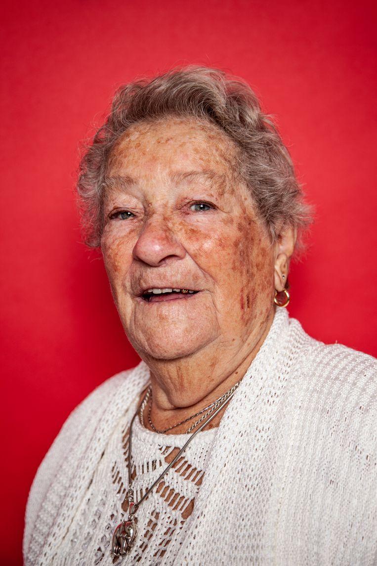 Elisabeth de Boer-Suesan (93). Beeld Ernst Coppejans