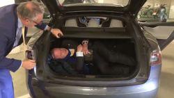 Bart De Wever kroop al in de koffer om pers te ontwijken