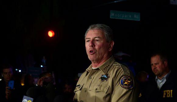 Geoff Dean, de collega van de overleden agent Ron Helus.