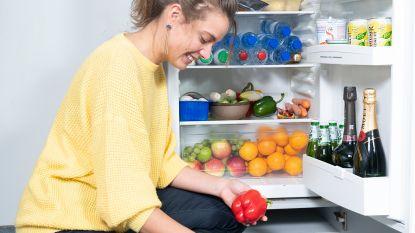 """Zo vult diëtiste Sanne Mouha haar koelkast: """"Ook ik heb chocoladepudding in huis"""""""