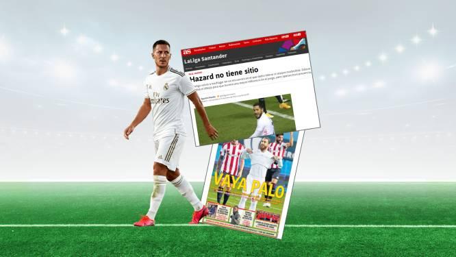 """Spaanse pers pakt Hazard opnieuw hard aan: """"Het gaat van kwaad naar erger"""""""
