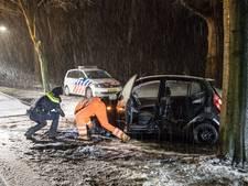 Ook politie rijdt nu op winterbanden