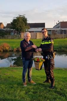 Cees (70) redt buurjongetje (1) van verdrinkingsdood: 'Een minuut later en het was te laat...'