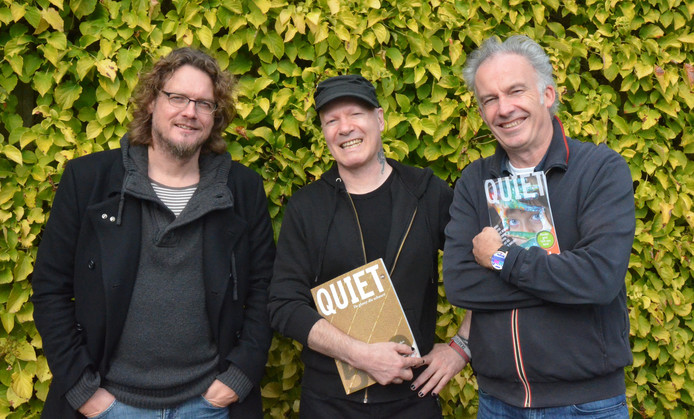 Anton Dautzenberg, Nick J. Swart en Ralf Embrechts gaan de aanvragen voor het nieuwe Quietfonds beoordelen.