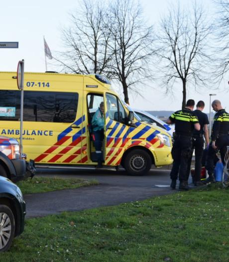 Fietsster gewond naar ziekenhuis bij ongeval op Stadsdam in Huissen