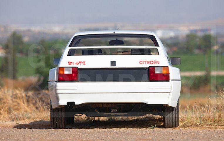 Citroën BX Rally.