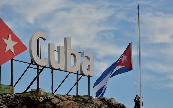 De vlaggen in Cuba hangen tot maandag halfstok