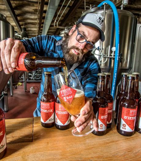 Kratjes bier met 25 flesjes dankzij een extra Deventer D'iesseltje
