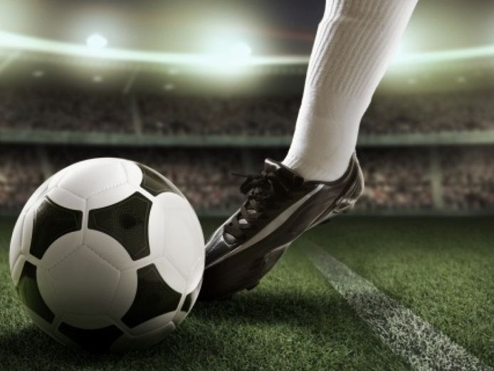 stockfoto voetbal