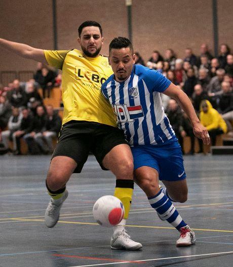 Topscorer Raphinha neemt zaalvoetballers FC Eindhoven bij de hand
