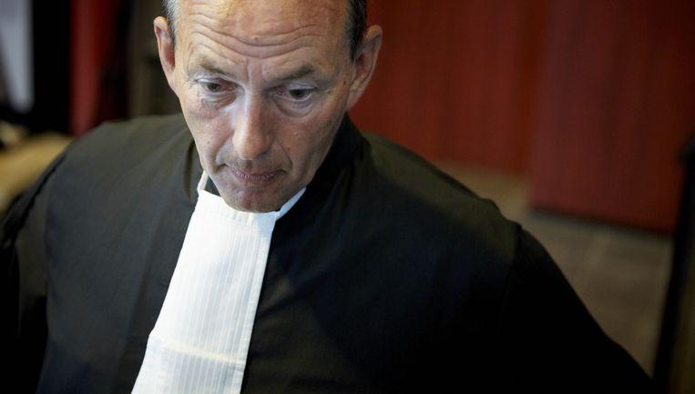 Advocaat Ton Visser tijdens de rechtszaak tegen Tarik Z. Beeld anp