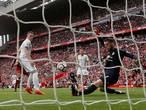 De Gea houdt United op gelijkspel op Anfield