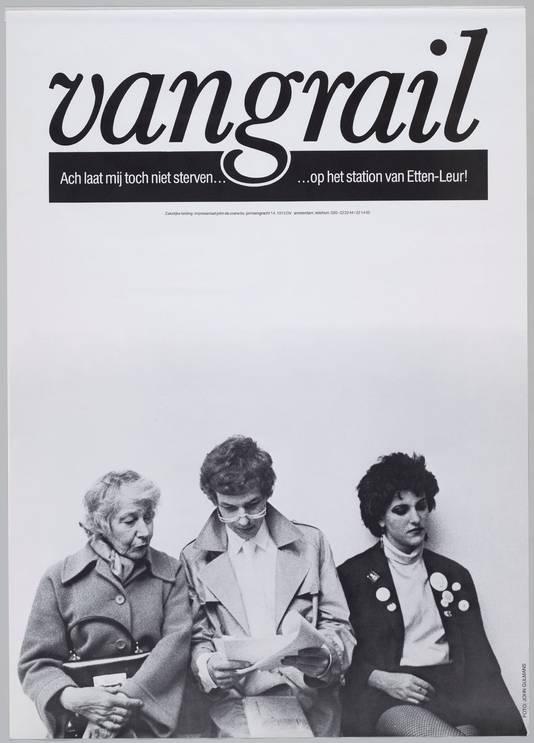 Cabaretgroep Vangrail speelde eind jaren zeventig het programma 'Ach laat mij toch niet sterven... op het station van Etten-Leur!'