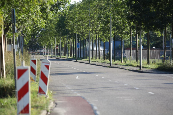 Lekkage bij Sabic in Bergen op Zoom.