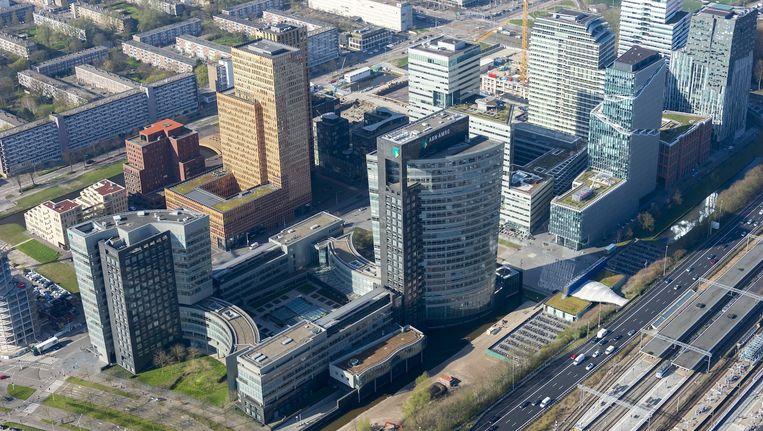 De Zuidas in Amsterdam Beeld anp