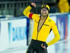 Thomas Krol maakt zich op voor zes weken schaatsbubbel in Wolvega. 'De hele vliegsimulator gaat mee'