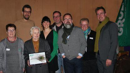 Maria Siebens krijgt 'Groene Pluim'
