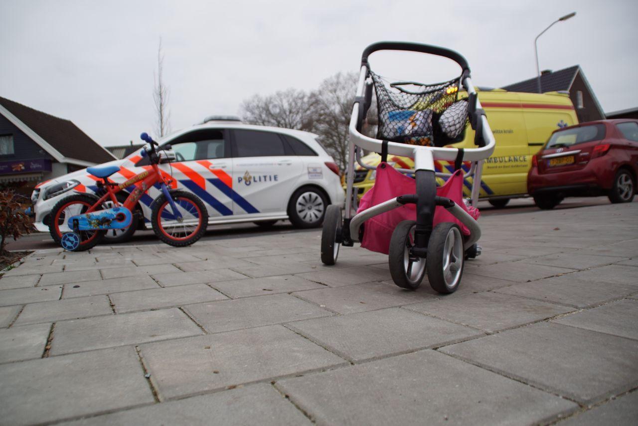 Vrouw en kinderen aangereden in Aalten