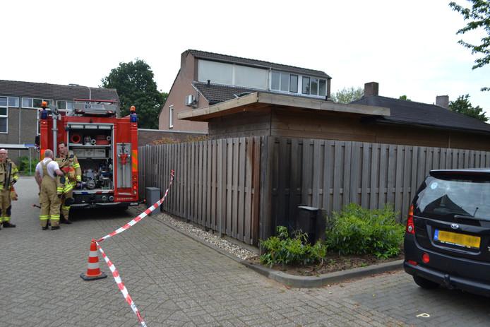 Zondagmorgen is een verdeelkast in de brand gevlogen aan de Perenbongerd in Huissen.