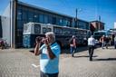 Liefhebbers van de trolley maakten zaterdag volop films en foto's.