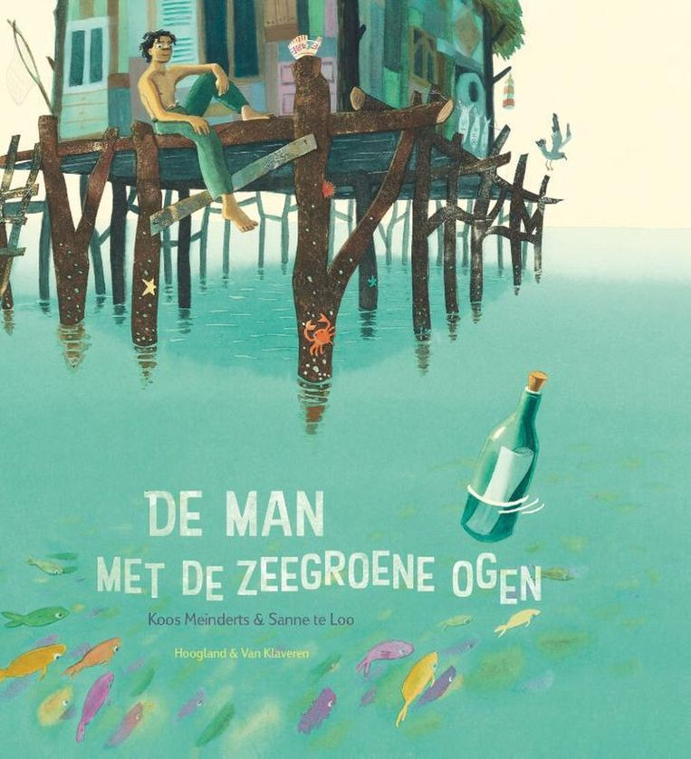 'De man met de zeegroene ogen' van Koos Meinderts. Beeld