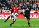 Bernat in duel met Cristiano Ronaldo