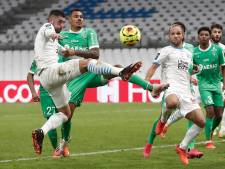 Saint-Étienne alleen aan kop in Ligue 1 na zege in Marseille