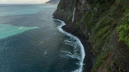 Steil achterover van Madeira