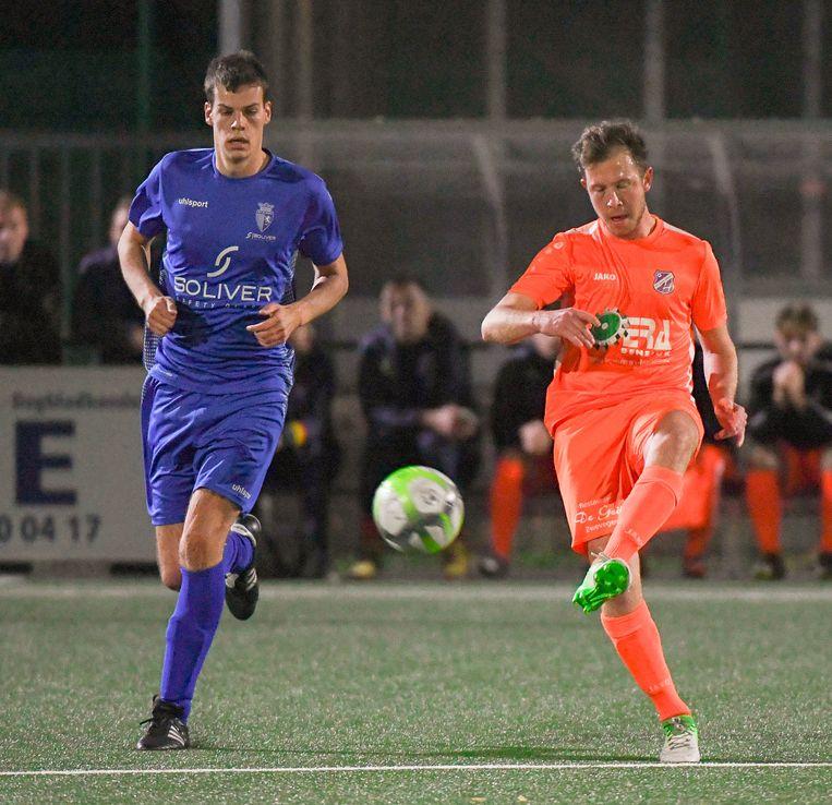 Hannes De Vidts (l.) is bezig aan zijn tweede seizoen bij de competitieleider.