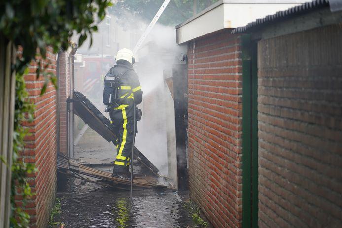 Schuurbrand in Geertruidenberg.