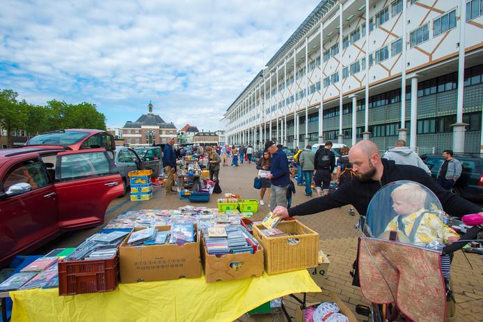 Voor het derde jaar op rij zijn er dit jaar kofferbakverkopen op het Marktplein.