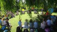 Kleuters van Klein Seminarie nemen afscheid met sprankelend tuinfeest