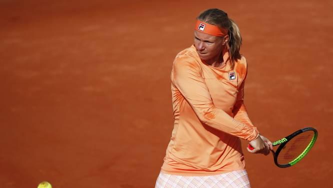 Nederlandse tennisster Kiki Bertens komt dit tennisseizoen niet meer in actie