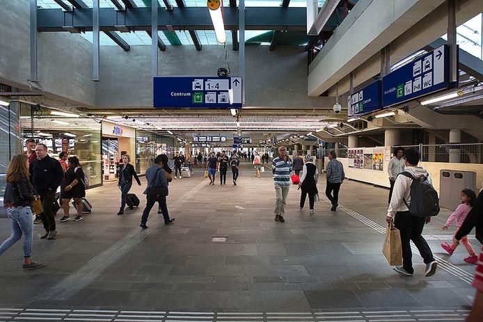 Het nieuwe station in Eindhoven