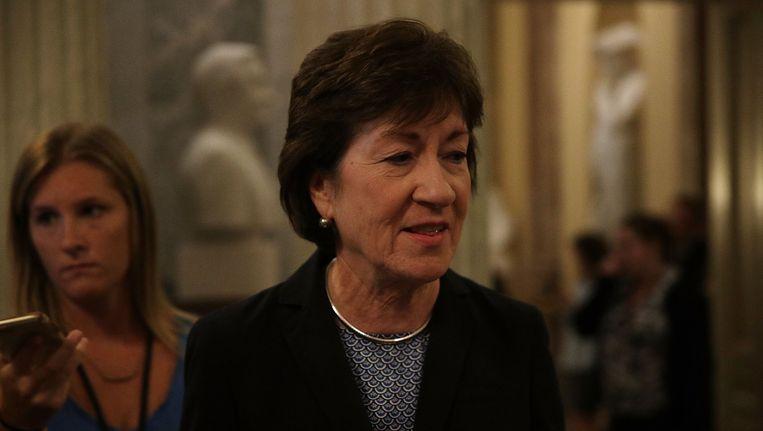 De Republikeinse Senator Susan Collins heeft ook aangegeven tegen te stemmen.