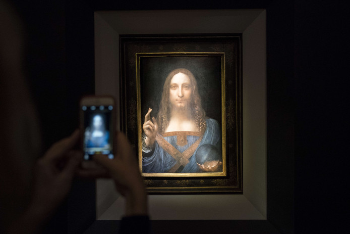 Salvator Mundi van Leonardo da Vinci.