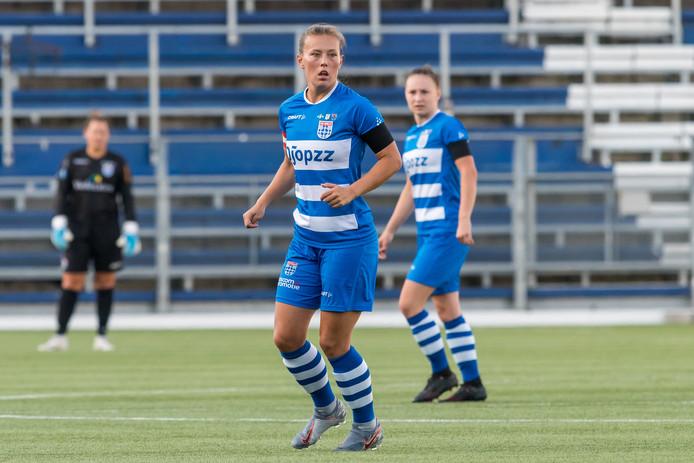 Dominique Bruinenberg begon het seizoen met haar nieuwe club met een nederlaag.