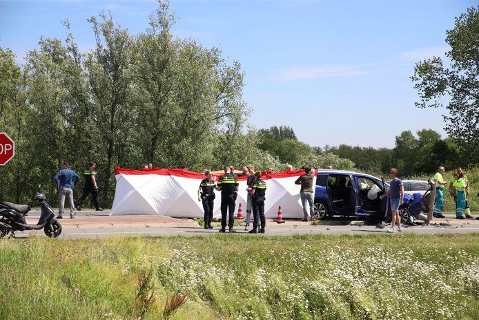 Ongeval in Asperen.