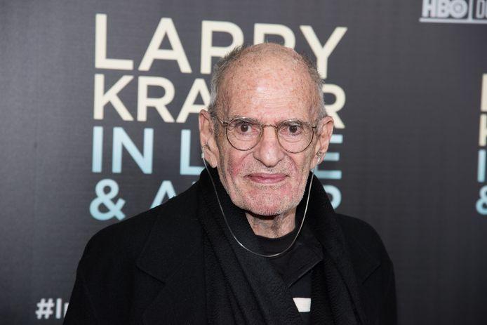 Larry Kramer en 2015.