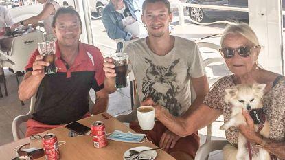 """Alex Derille wachtte anderhalve maand in camper om naar Spanje te mogen: """"Op ons nieuwe leven!"""""""